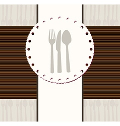 Restaurant document template vector