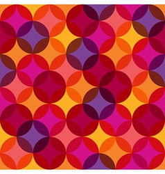 Seamless Vibrant Pattern Background vector image vector image