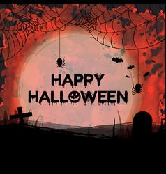 Watercolor halloween backgrounds vector