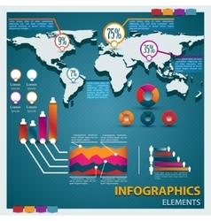Premium infographics master collection vector