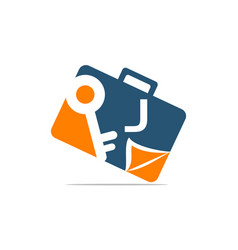 Briefcase key document initial j vector