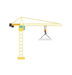 Lifting Crane Icon vector image