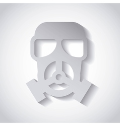 mask protection safety icon vector image
