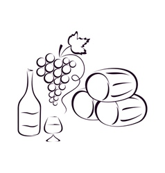 Wine composition vector