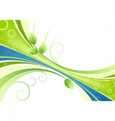 Fresh background vector
