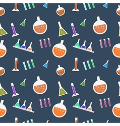 Seamless lab pattern in vector