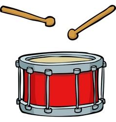 Red drum vector