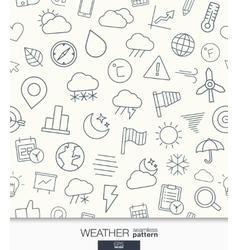 Weather wallpaper black and white meteorology vector