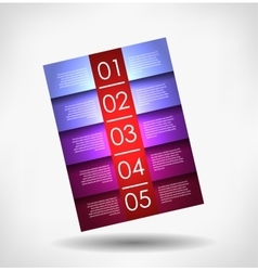 abstract background number vector image vector image