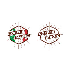 Coffeemagic logotype vector