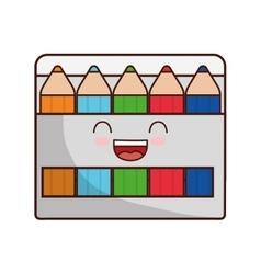 Colors face class school instrument icon vector