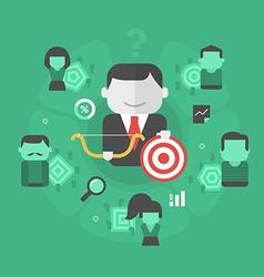 Customers segmentation vector