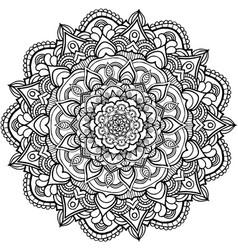 Mandala 6 image vector