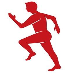 Running man5 vector image