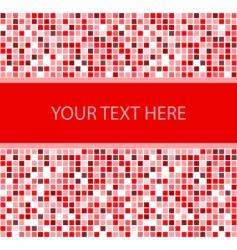 stylish square banner illustration vector image vector image