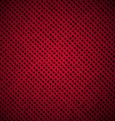 Red dark texture of cloth vector