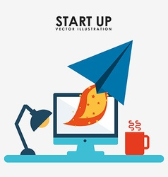 Start up design vector
