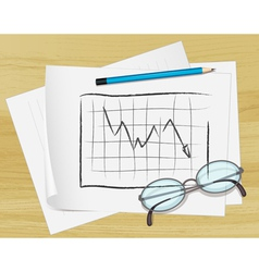 Planning graph paper vector