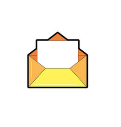 E-mail message to write and communication vector
