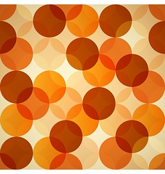 Seamless Circle Abstract Background vector image vector image