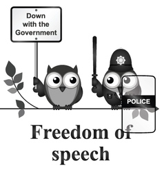 Freedom of speech vector