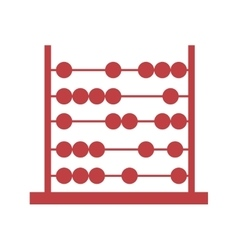 Abacus pictogram icon image vector