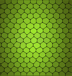 abstract green mosaic pattern abstract background vector image vector image