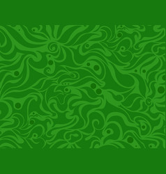abstract seamless green background vector image vector image
