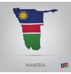 Namibia vector