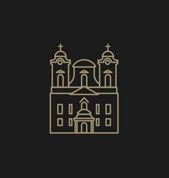 Roman catholic church vector