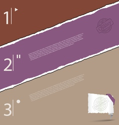 Torn paper background 3 vector image vector image