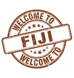 Welcome to fiji vector