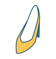 women high heel vector image