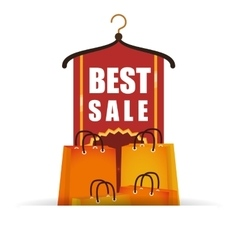 best sale commercial tags vector image