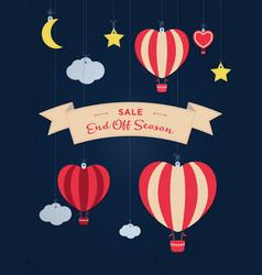 sale banner template design big sale special vector image