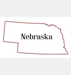 Nebraska vector