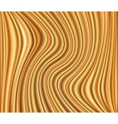 Abstract gold background luxury cloth wave vector image vector image