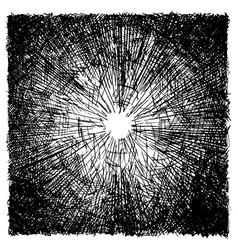 Rough hatching grunge texture vector