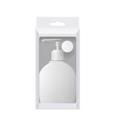Realistic dispenser vector