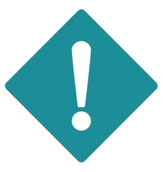 Error flat soft blue color icon vector