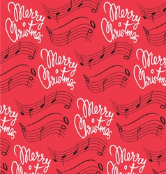 Merry Christmas song background vector image vector image