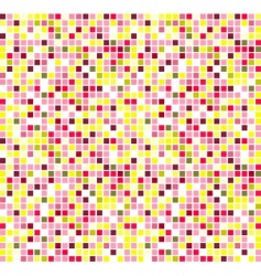 mosaic illustration vector image vector image