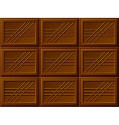 Seamless chocolate bars vector