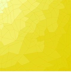 Yellow mosaic tiled background vector image
