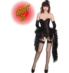 cabaret girl vector image