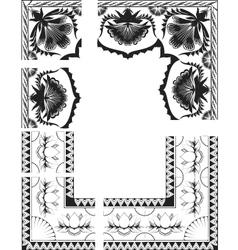 Indian flowers vector