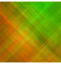 Abstract elegant green orange background vector