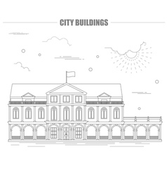 City buildings graphic template city buildings vector