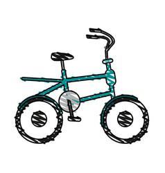 Old bike design vector