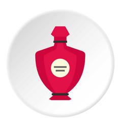 Perfume icon circle vector